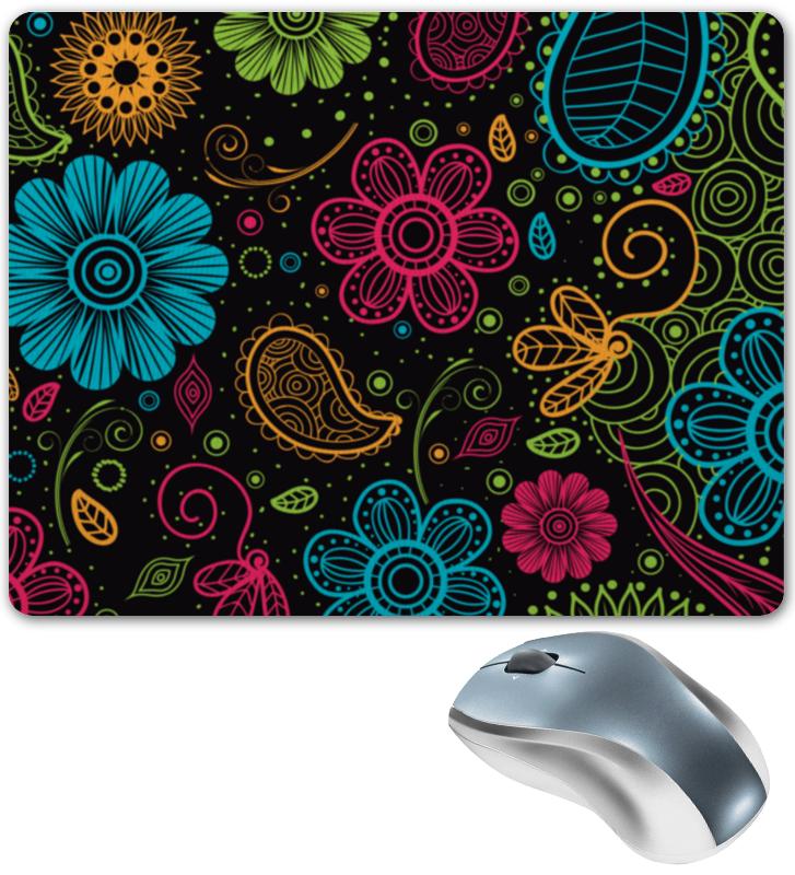 Коврик для мышки Printio Цветочный