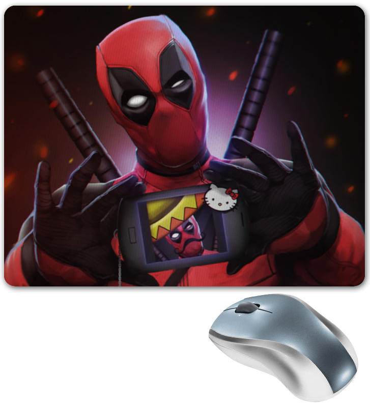 Коврик для мышки Printio Дэдпул (deadpool) цена