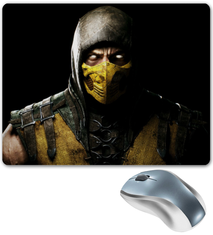 Коврик для мышки Printio Mortal kombat x видеоигра для ps4 mortal kombat x