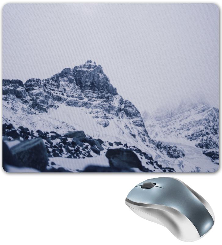 Коврик для мышки Printio Снежные скалы коврик для мышки printio снежные елки