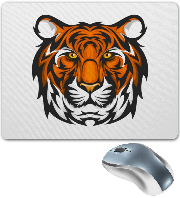 Коврик для мышки Printio Голова хищника,бенгальского тигра для оформления. бесплатно бенгальского котенка на сахалине