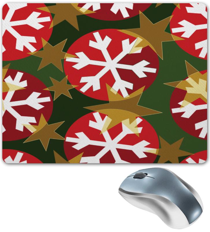 Коврик для мышки Printio Новогодние шары