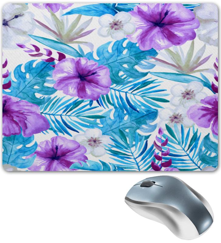 Фото - Коврик для мышки Printio Тропические цветы юбка карандаш укороченная printio тропические цветы
