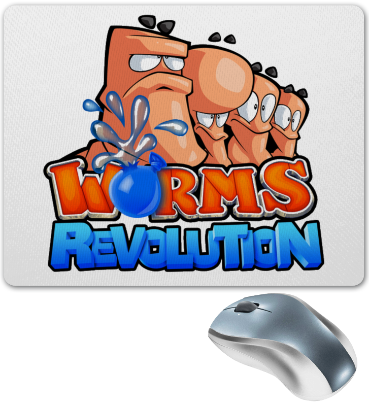 Коврик для мышки Printio Worms revolution berkley power honey worms bronze
