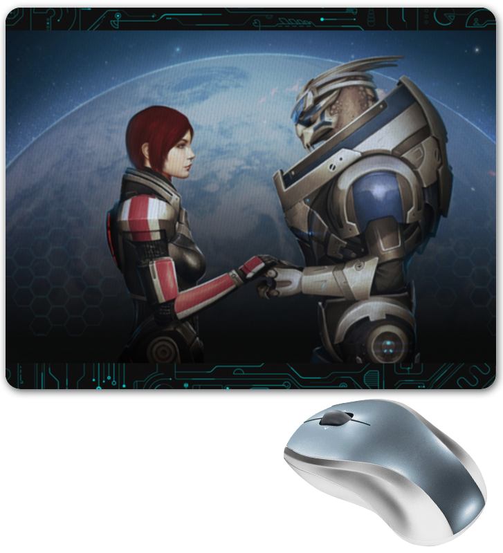 Коврик для мышки Printio Mass effect худи print bar mass effect