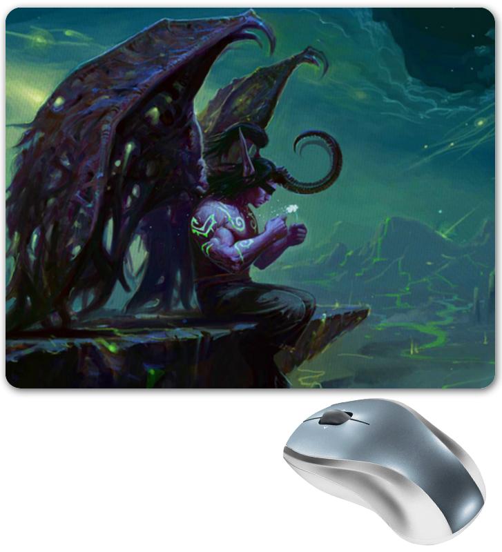 Коврик для мышки Printio Warcraft collection: illidan эспадрильи zenden collection zenden collection ze012agpre18
