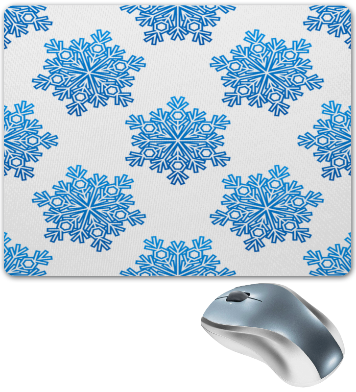 Коврик для мышки Printio Голубые снежинки чарльз диккенс bardell v pickwick