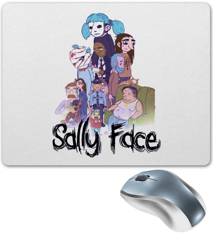 Коврик для мышки Printio Sally face (салли фейс)