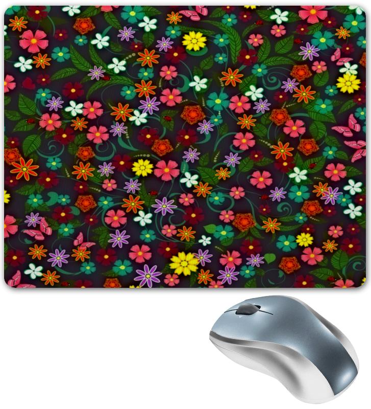 все цены на Коврик для мышки Printio Весенние цветы онлайн