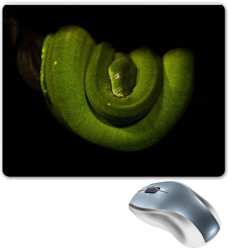Коврик для мышки Printio Зеленая древесная змея