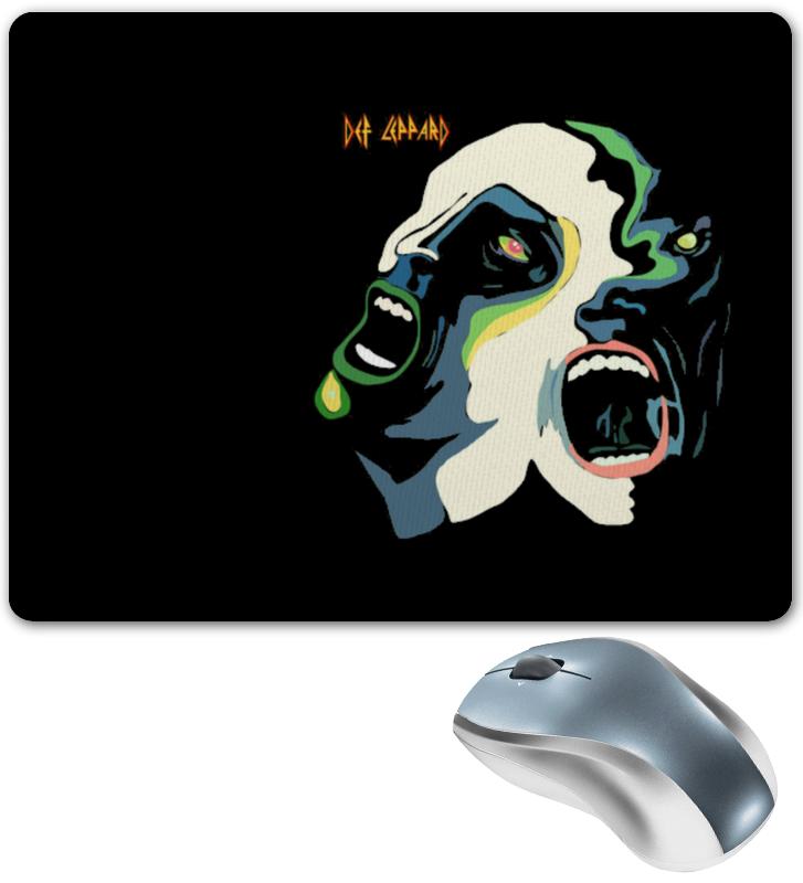 Коврик для мышки Printio Def leppard маска для сноуборда von zipper feenom nls tru def chrome
