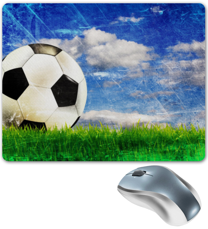 Коврик для мышки Printio Для тех кто любит и занимается футболом валентин дикуль упражнения для позвоночника для тех кто в пути