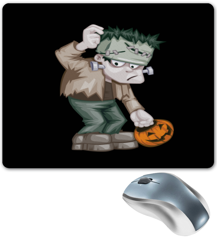 Коврик для мышки Printio Чудовище франкенштейна