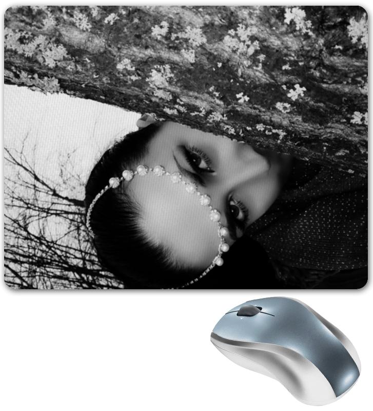 Коврик для мышки Printio Девушка за деревом девушка из джерси