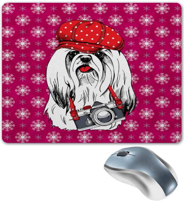 где купить Коврик для мышки Printio Год собаки дешево