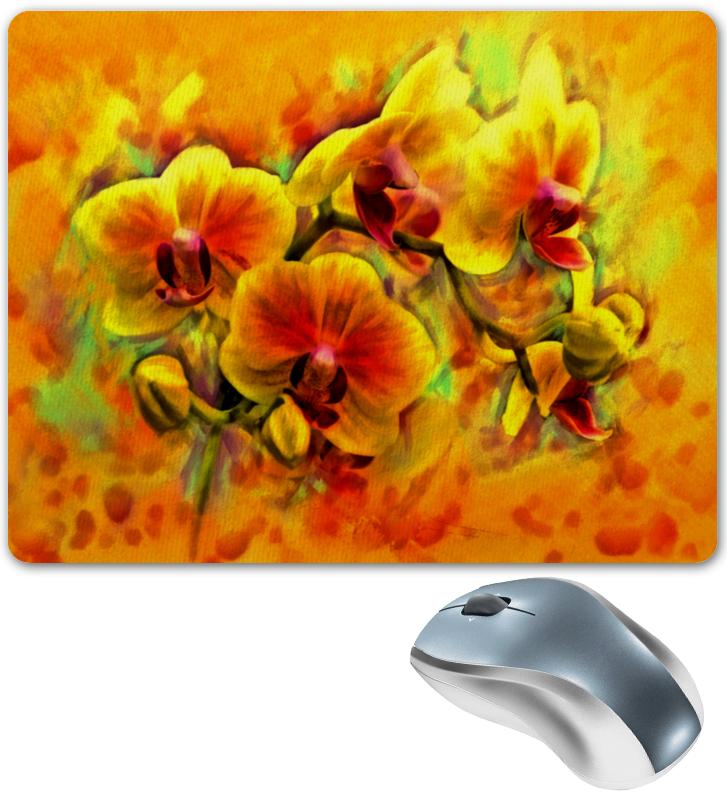 Коврик для мышки Printio Желтые цветы коврик для мышки printio цветы мака