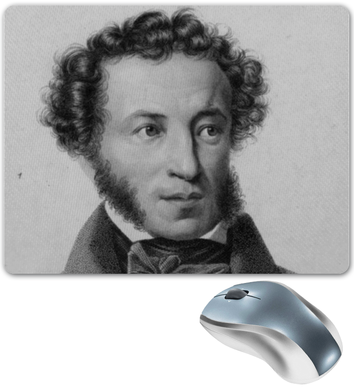Коврик для мышки Printio Пушкин