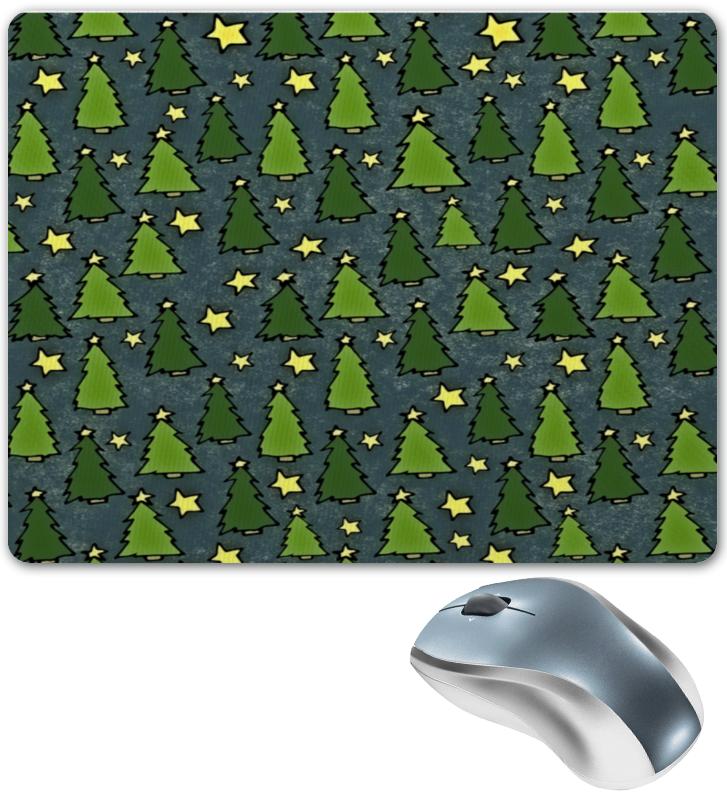 Коврик для мышки Printio Новогодняя елка цена 2017