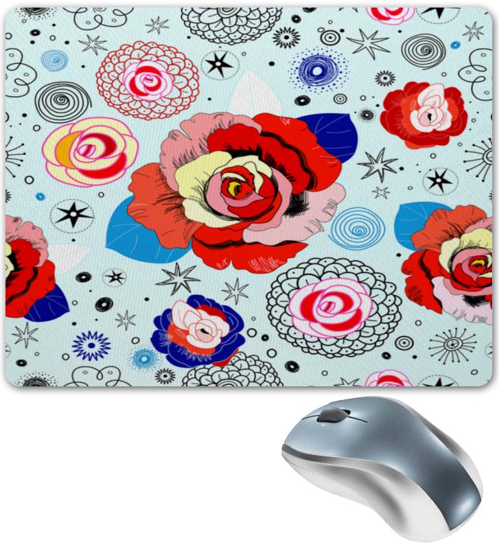 Фото - Printio Цветочки коврик для мышки круглый printio цветочки