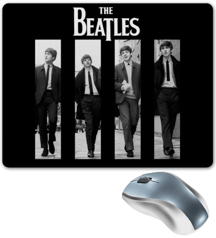 Коврик для мышки Printio The beatles магнит the beatles paper back writer