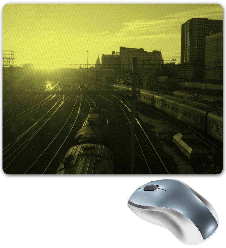 Коврик для мышки Printio поезда сигнал поезда