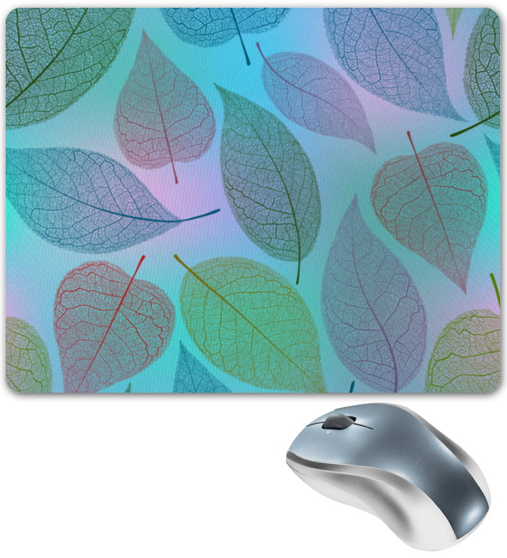 Коврик для мышки Printio Листья коврик для мышки круглый printio кленовые листья
