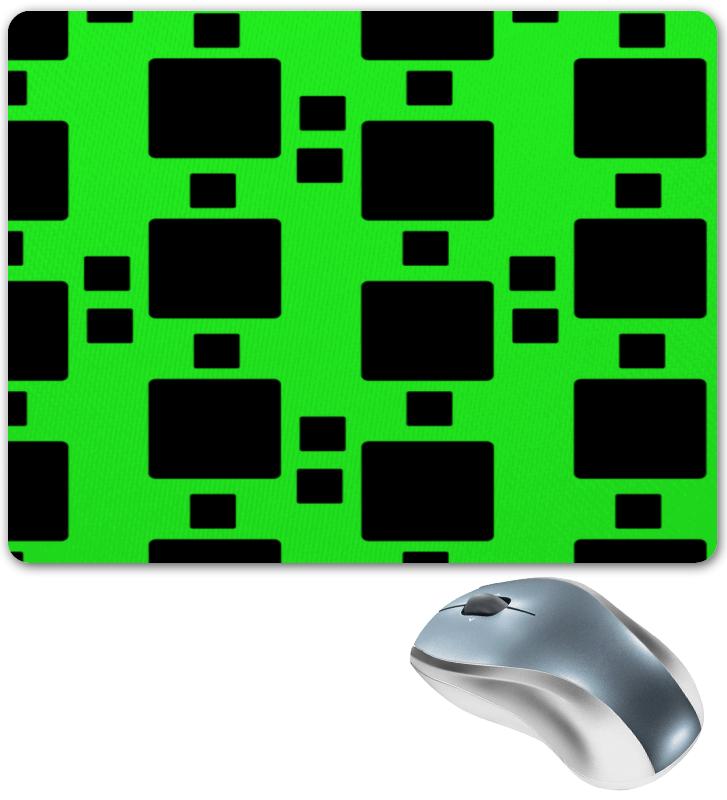 Коврик для мышки Printio Черные квадраты