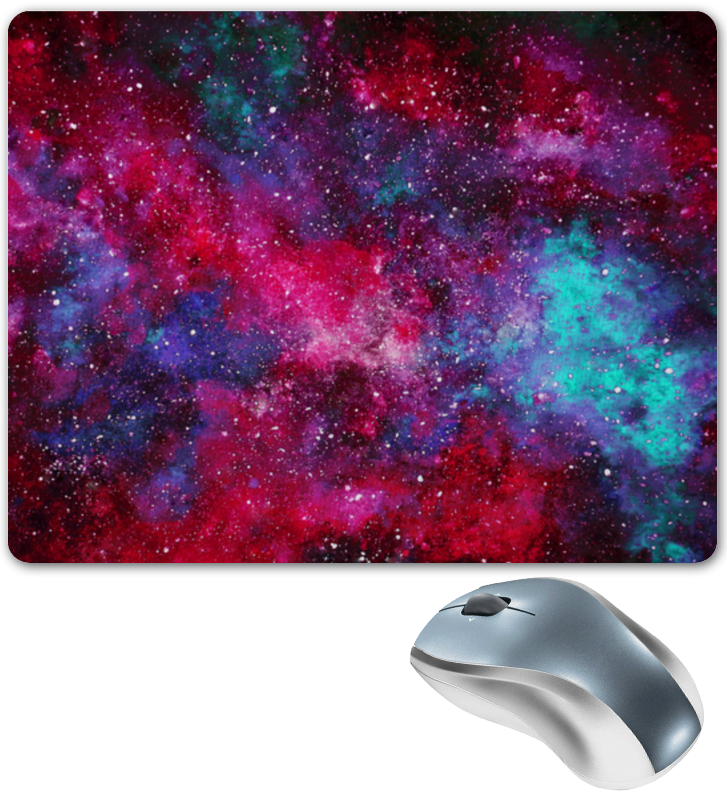 Коврик для мышки Printio Космос коврик для мышки printio леденцы
