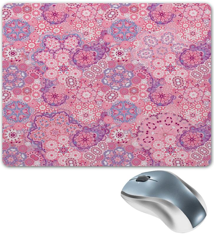 Коврик для мышки Printio Розовый узор коврик для мышки printio узор листьев
