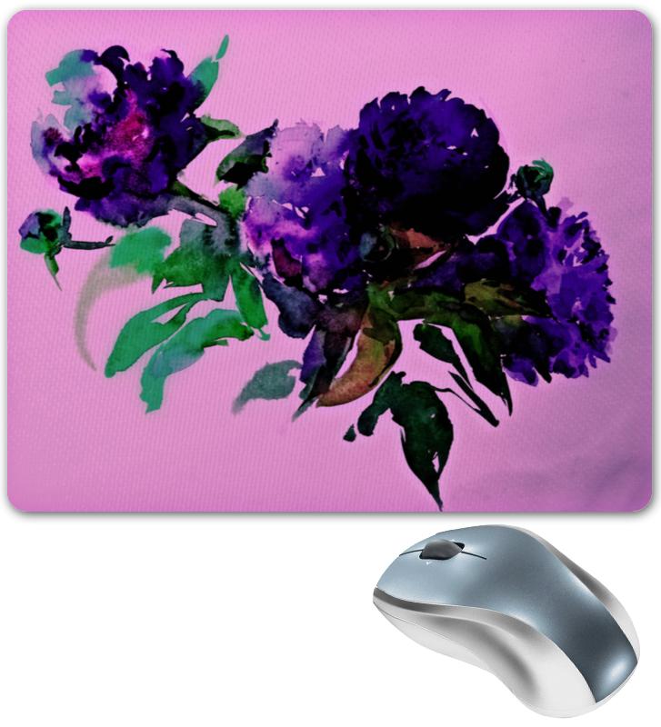 Коврик для мышки Printio Цветы красками цена