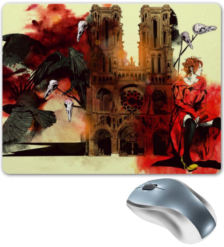 Коврик для мышки Printio Raven brabd. путь сердца. коврик для мышки printio мотивация