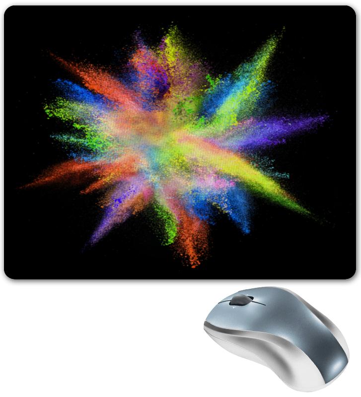 Printio Взрыв красок коврик для мышки printio взрыв