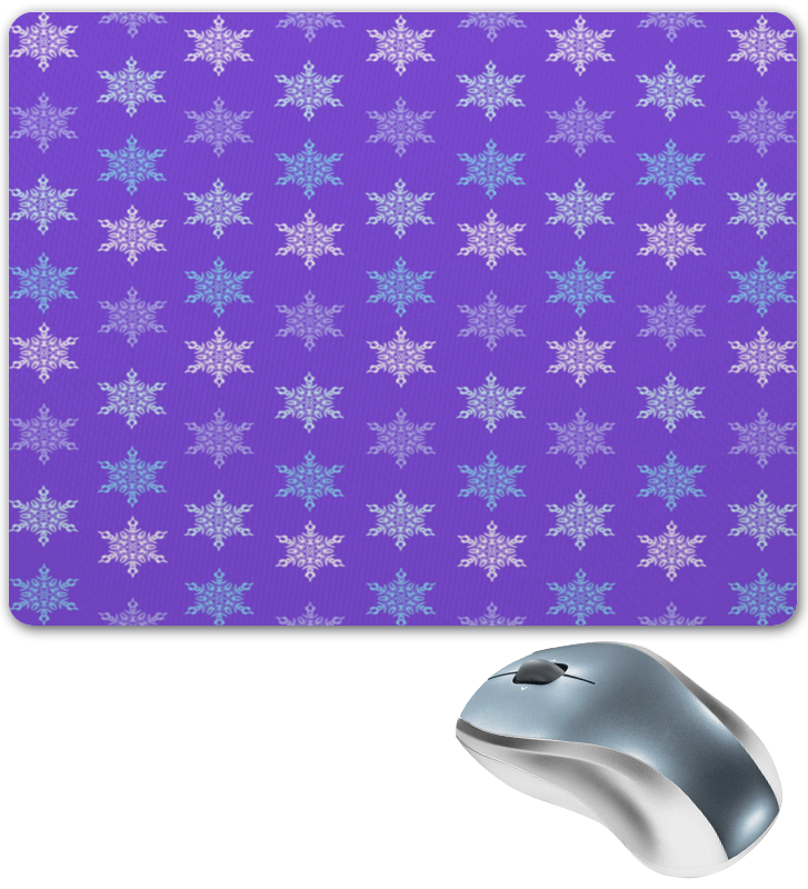 Коврик для мышки Printio Резные снежинки