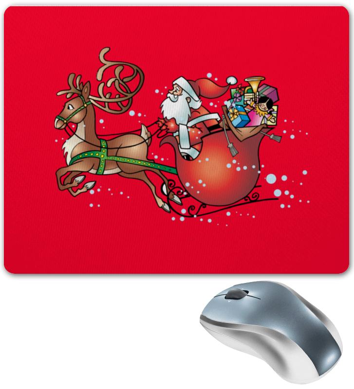 Коврик для мышки Printio Новогодние сани ирина вязова новогодние игрушки