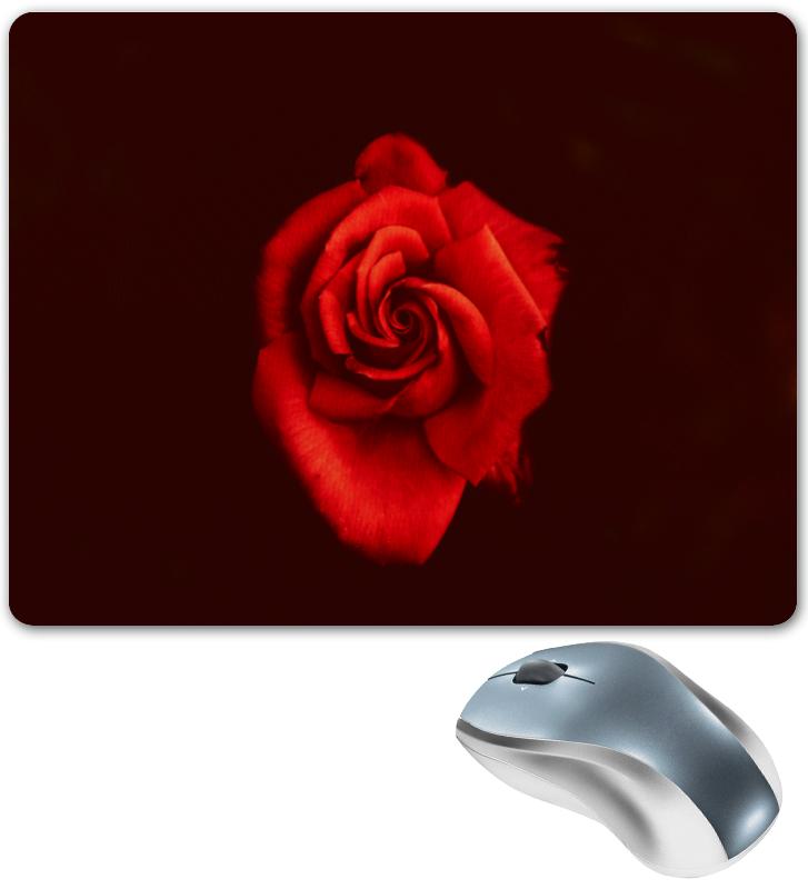 Коврик для мышки Printio Красная роза 3d головоломка роза красная 90113