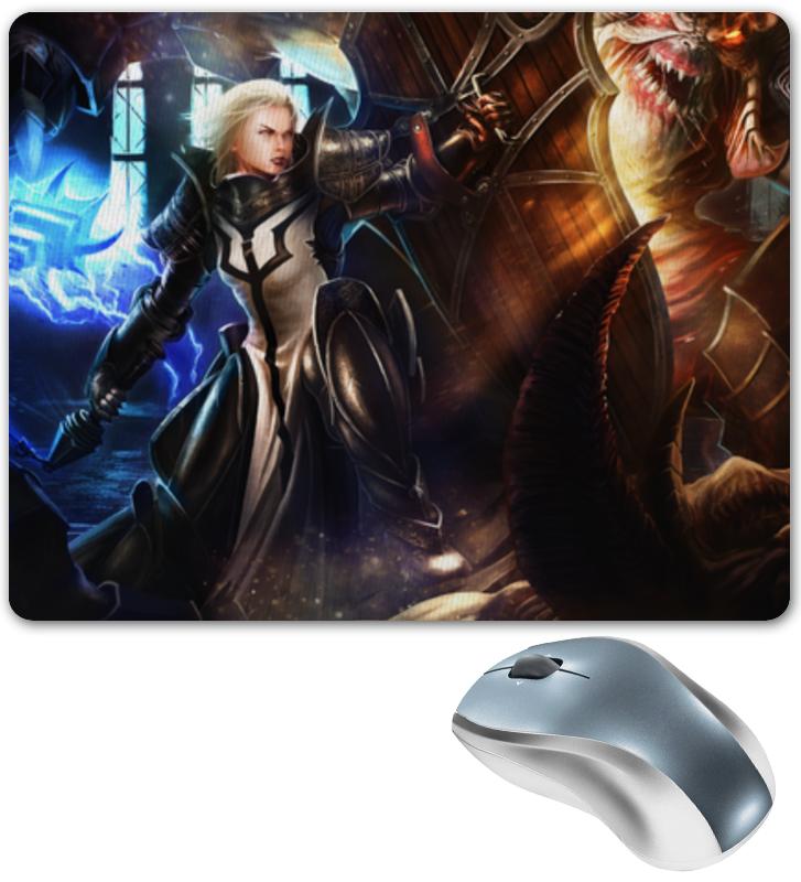 Коврик для мышки Printio Diablo iii видеоигра для pc diablo iii reaper of souls дополнение