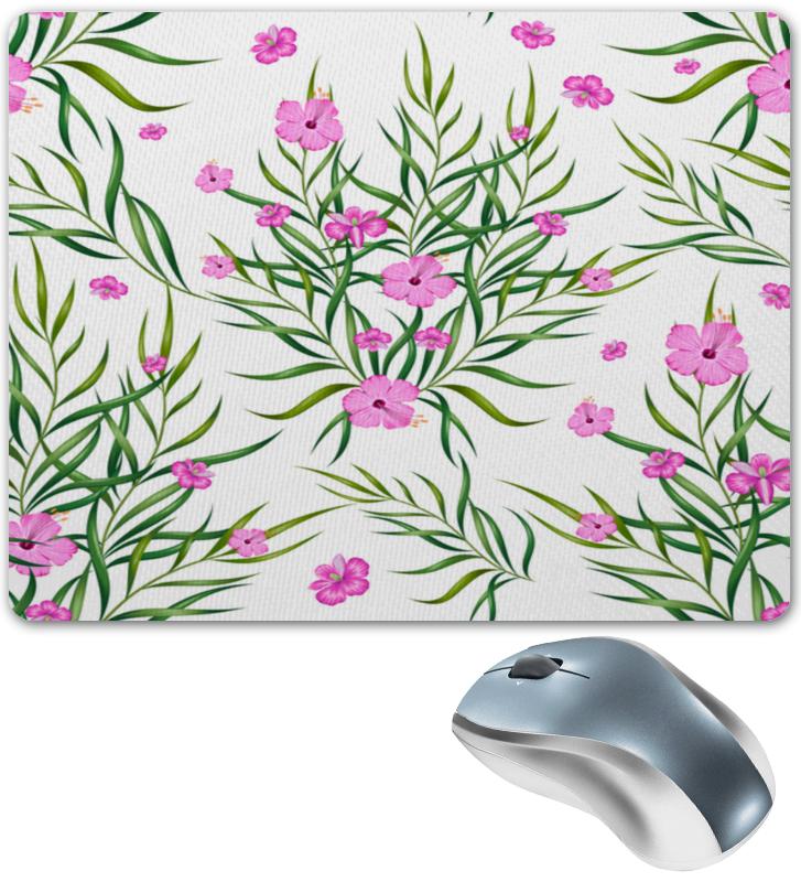 Коврик для мышки Printio Тропические цветы коврик для мышки printio тропические фрукты