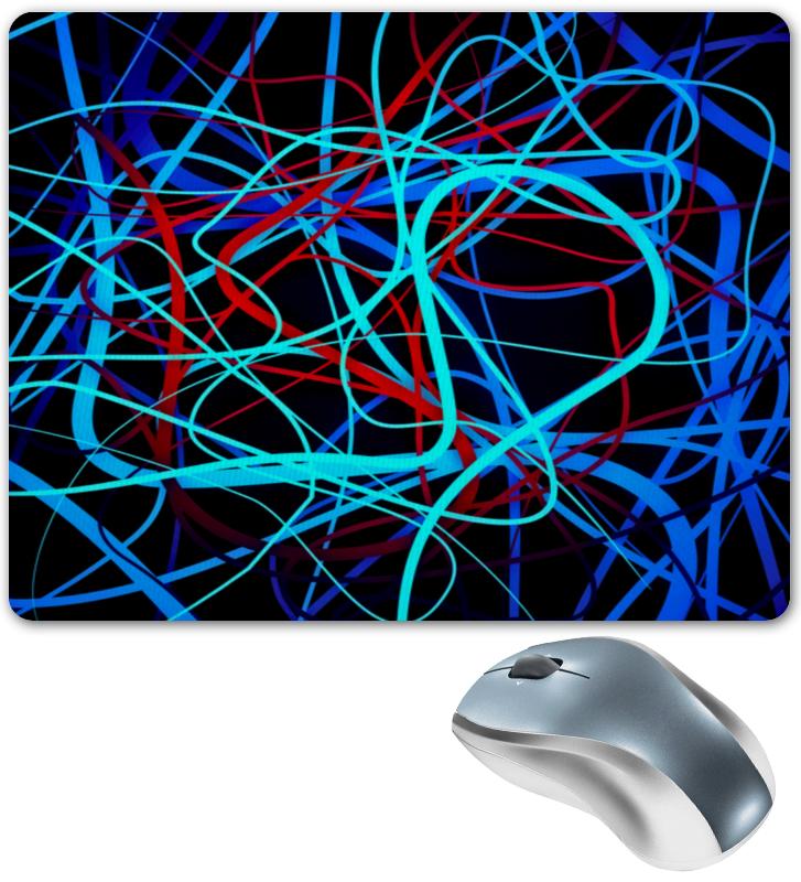 Коврик для мышки Printio Переплетение линий атс panasonic kx tem824ru аналоговая 6 внешних и 16 внутренних линий предельная ёмкость 8 внешних и 24 внутренних линий