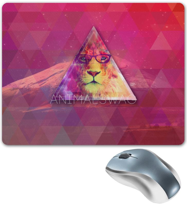 Коврик для мышки Printio animalswag ii collection: lion тетрадь на скрепке printio animalswag ii collection lion