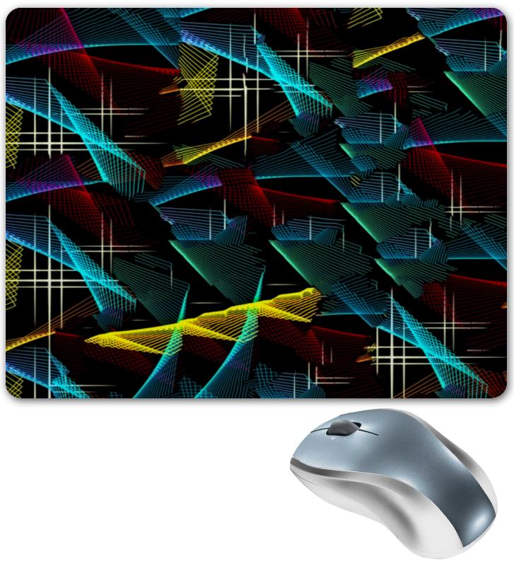Коврик для мышки Printio Цветные полосы коврик для мышки printio красные полосы