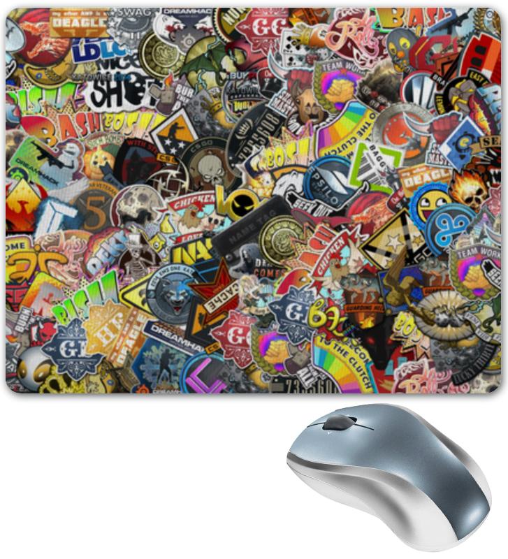 Фото - Коврик для мышки Printio Стикеры стикеры для стен unbranded diy jm8361