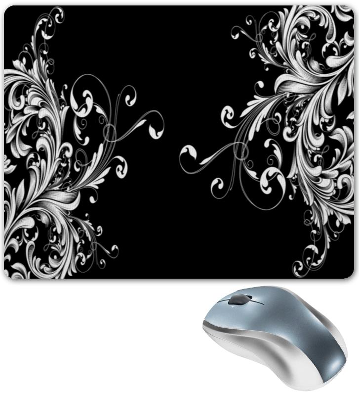 Коврик для мышки Printio Белые узоры