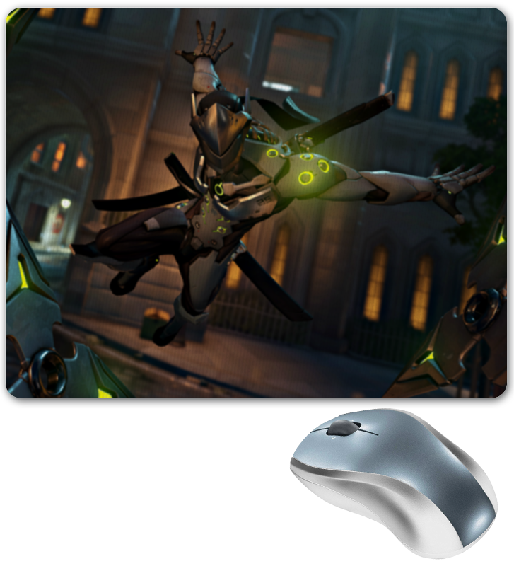 Коврик для мышки Printio Overwatch
