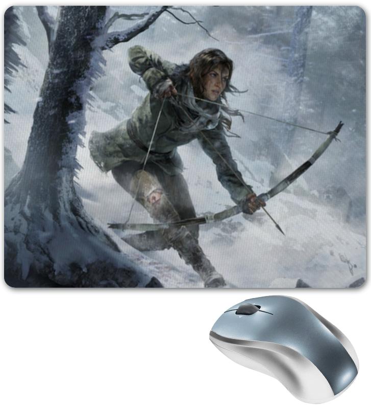цена Коврик для мышки Printio Lara croft