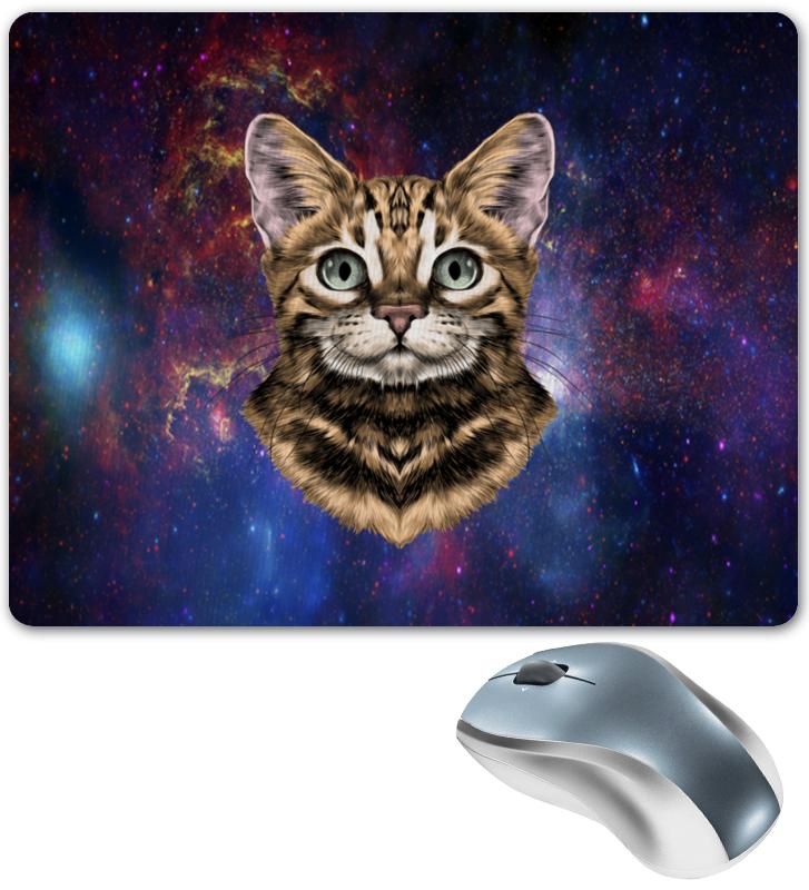 Printio Кот в космосе коврик для мышки printio вспышки в космосе