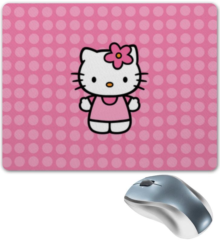 Коврик для мышки Printio Kitty в горошек леггинсы printio kitty в горошек