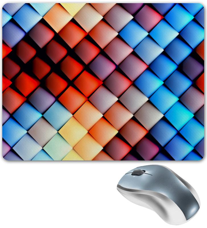 Коврик для мышки Printio Кубики абстракция кубики мди