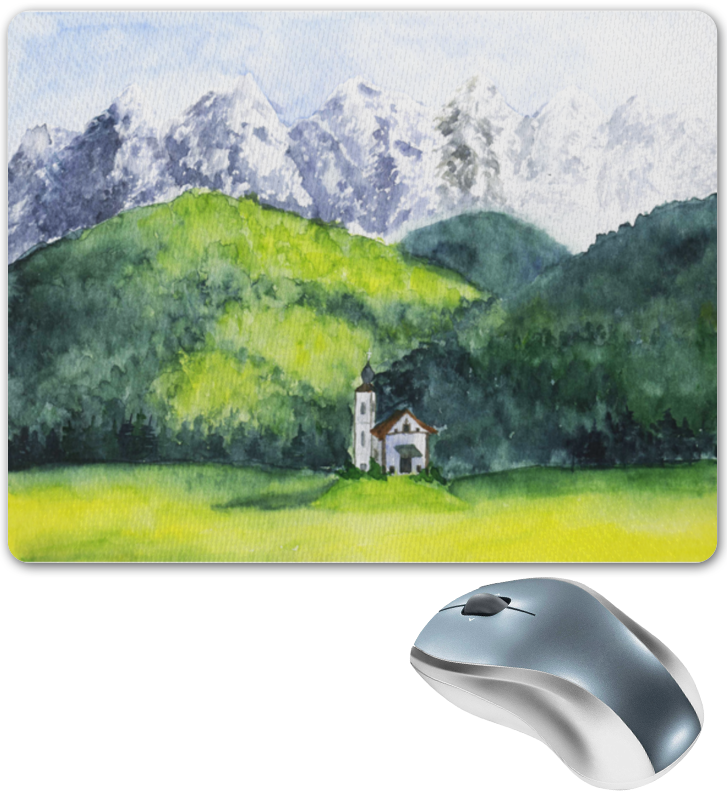 Printio Горный пейзаж коврик для мышки printio горный пейзаж
