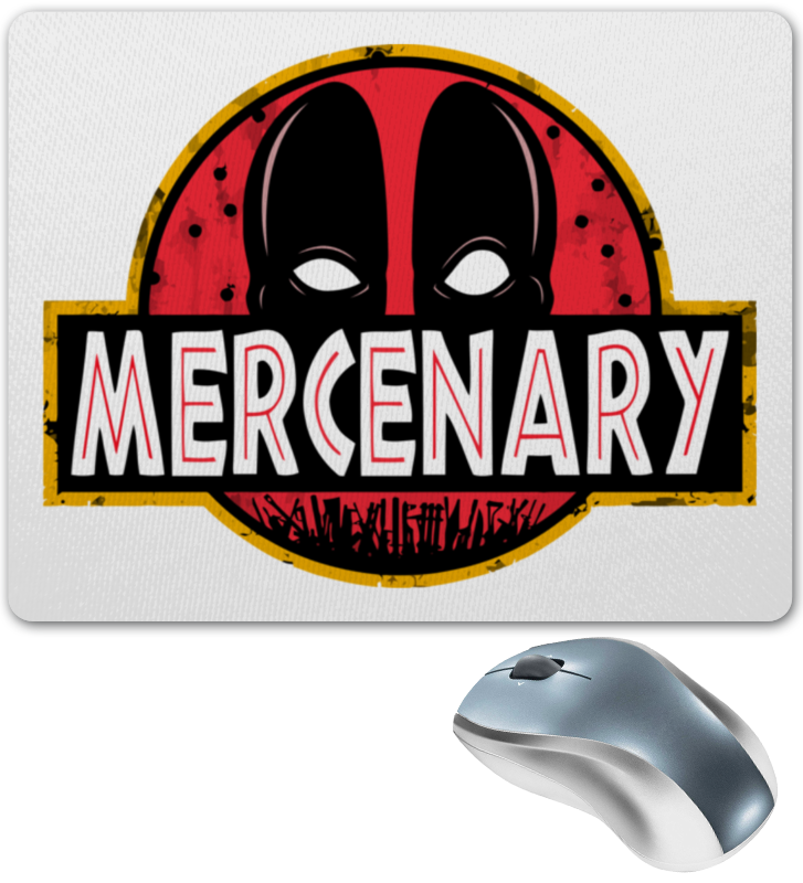 Коврик для мышки Printio Deadpool mercenary sean mcfate the modern mercenary