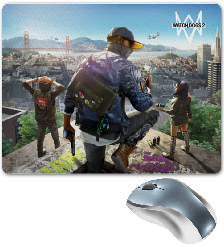 Коврик для мышки Printio Watch dogs 2 watch dogs 2 gold edition [xbox one]